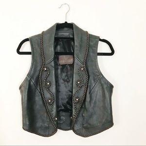 Handmade Leather Vest